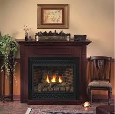savannah oak 24 in vent free propane gas fireplace logs with remote insert er empire premium vent free propane fireplace
