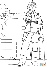 Small Picture Firefighter coloring page Free Printable Coloring Pages