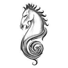 Kůň Iron Tribal