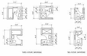 Minimum Bathroom Dimensions
