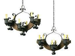 non electric candle chandelier large size of unique crystal cut glass s wrought iron convert candl