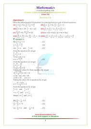 ncert solutions for class 10 maths chapter 3 exercise 3 6