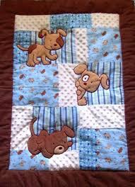 Best 25+ Patchwork baby ideas on Pinterest | Easy baby quilt ... & Puppy Baby Blanket - 34x42 Baby Blanket - Puppy Baby Quilt - Puppy Crib  Nursury Bedding - Minky & Flannel Blanket - Puppy Blanket Adamdwight.com