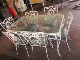 wrought iron vintage patio furniture. vintage wrought iron patio set 150 furniture and lighting pinterest wrought iron patios vintage patio