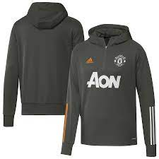 Manchester United Training Hoodie - Green