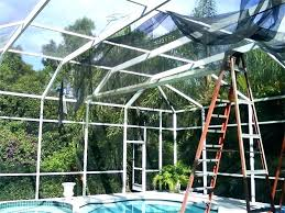 how to rescreen a sliding door how to how much does it cost to a pool how to rescreen a sliding door fresh patio