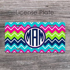 Uncategorized Do Pink And Green Go Together colorful hot pink lime and aqua  chevron monogram car