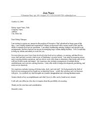 Download Cover Letters For Chefs Ajrhinestonejewelry Com