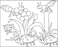 Spring Coloring Pictures Printable Q6395 Coloring Pages Free
