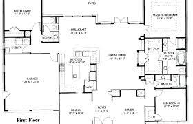 single level home floor plans modern house plans medium size single level house plans beautiful baby