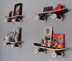 Skateboard Bedroom Furniture Kids Room Modern Kids Furniture Bookshelf With Books Skateboard