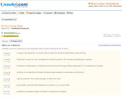 Inspiring Naukri Com Resume Writing Services    For Good Resume Objectives  With Naukri Com Resume Writing