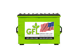 Dumpster Sizes Chart Dumpster Types And Sizes Gfl Environmental