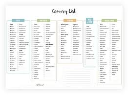 Typical Grocery List The Ultimate Vegan Grocery List