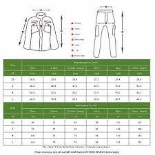 Lanbaosi Mens Tactical Combat Shirt And Pants Set Long Black Size Medium Ebay