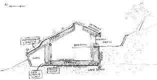 Plans for Dale's Hobbit home (Photo: Simon Dale)