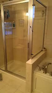 corner shower stalls. Full View Front Seam Outside Corner Shower Stalls