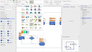 Creating A Flowchart In Visio Creating Professional