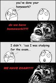 you ve done your homework geek s humor you ve done your homework