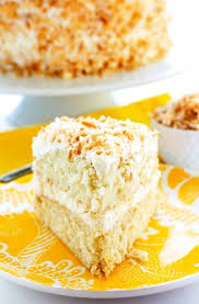 Best Ever Coconut Cream Cake Food Folks And Fun