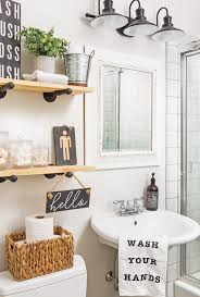 powder room guest bathroom decor