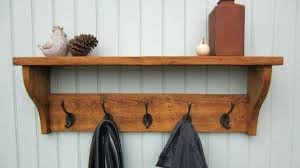 Coat Rack And Shelf Magnificent Coat Rack Wall Yorokobaseya