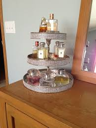 Bathroom Vanity Tray Decor Decluttering the dresser with a cake stand Perfume Cake and 36