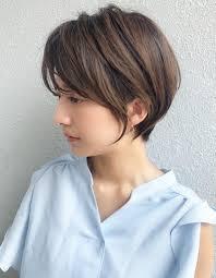 30代40代大人のすっきりショートヘアsh99 ヘアカタログ髪型