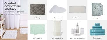 bathroom rugs bath mats jcp image
