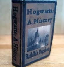 etsy seller littlewoostudio hogwarts a history miniature book potter