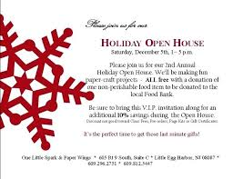 Christmas Open House Invitation School Open House Invitation Template Free Vector Templates Word
