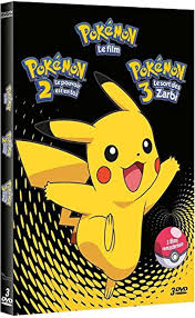 Pokemon Les Films 1 + 2 + 3 - Zamala.fr