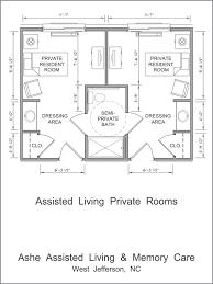 Home Design Designing Ideas 2017 0  LightandwiregalleryComAssisted Living Floor Plan