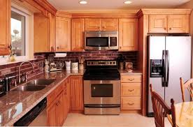 honey maple kitchen cabinets. Honey Maple Cabinets With Granite Countertop Sewell Nj Yelp. Kitchen T
