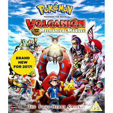 Pokemon - The Movie - Volcanion And The Mechanical Marvel Blu-Ray