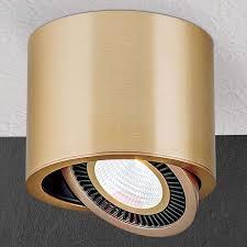 Led Plafond Opbouwstraler Sofya In Goud