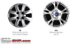 Ford Rim Size Chart Ford Figo Aspire Tyre Wheel Upgrade Thread Team Bhp