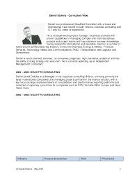 CV Daniel Stokvis  May 2015 1 Daniel Stokvis - Curriculum Vitae Daniel is  a professional ...
