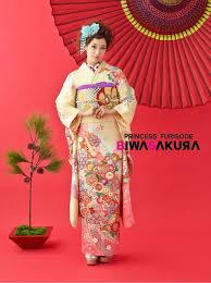Biwa桜では最新のレトロ振袖や他店には無いオリジナル振袖またモデル