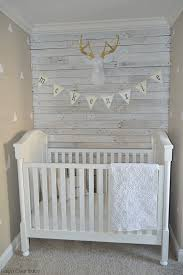 pallet wood wall whitewash. rustic nursery with white-washed pallet wall - project wood whitewash e