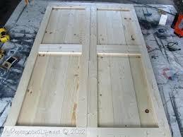 build a barn door barn doors how to build a barn door with glass insert