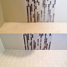 shower detail grout sealing