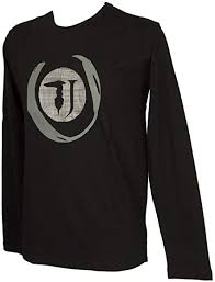 <b>TRUSSARDI JEANS Men's</b> Cotton Long Sleeves Round Neck t-Shirt ...