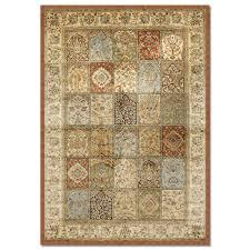 rugs sonoma mosaic 5 x 8 area rug rust