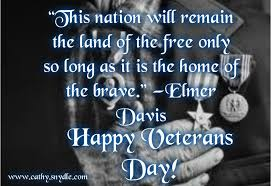 Veterans Day Quotes Gorgeous Veterans Day Quotes Cathy