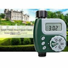 a one dial hose tap timer allowing complete control and functionality over your watering needs oversized features for easy use includes rain delay