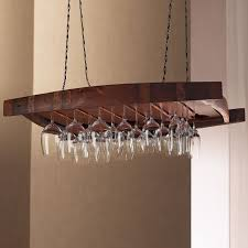 furniture rustic dark brown wooden wine glass shelf on the hook adorable floating wine