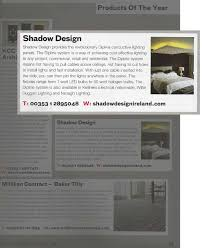willie duggan lighting. Willie Duggan Lighting And Nenagh Lighting. Shadow Design\u0027s Dipline System Named As One Of The Products Year In Plan Magazine R