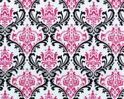 Scarf Madison Black Candy Pink