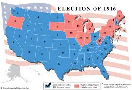 United States Presidential Election Of 1916 United States